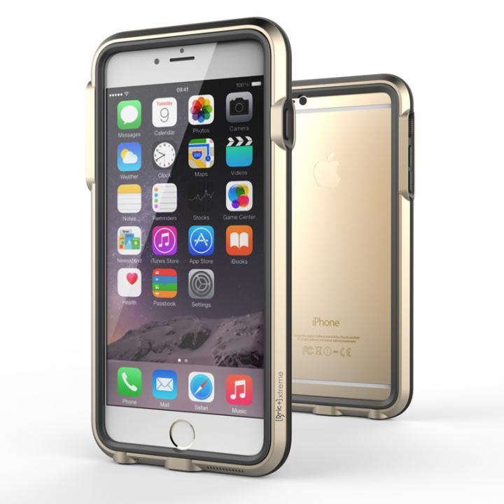 iPhone6 Plus ケース 耐衝撃アルミバンパー BricWave Extreme ゴールド/ブラック iPhone 6 Plus_0