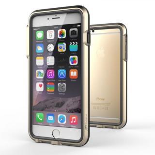【iPhone6 Plusケース】耐衝撃アルミバンパー BricWave Extreme ゴールド/ブラック iPhone 6 Plus