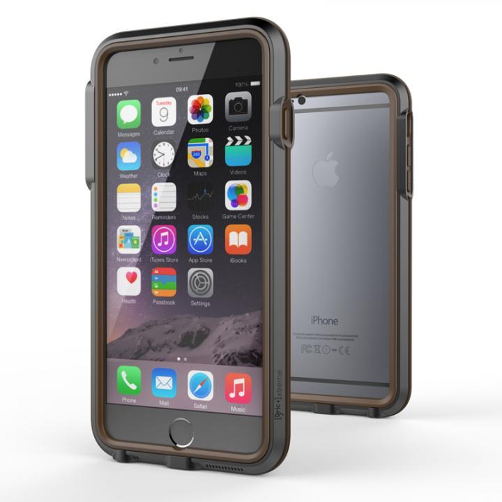iPhone6 Plus ケース 耐衝撃アルミバンパー BricWave Extreme チャコールグレー/ブラウン iPhone 6 Plus_0