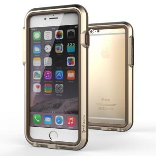 【iPhone6ケース】耐衝撃アルミバンパー BricWave Extreme ゴールド/ブラウン iPhone 6