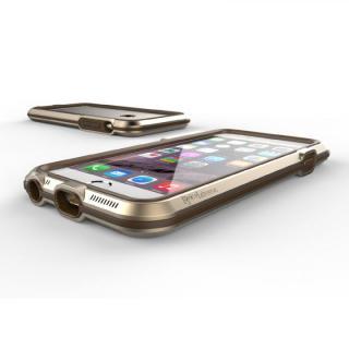 【iPhone6ケース】耐衝撃アルミバンパー BricWave Extreme ゴールド/ブラウン iPhone 6_2