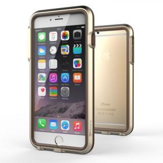 【iPhone6 Plusケース】耐衝撃アルミバンパー BricWave Extreme ゴールド/ブラウン iPhone 6 Plus