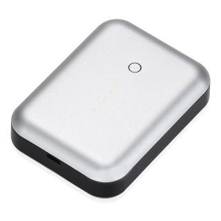 [6000mAh]最大2.5A出力 アルミニウムバッテリー Just Mobile Gum++ Aluminum シルバー