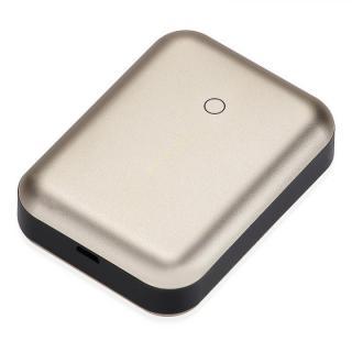 [6000mAh]最大2.5A出力 アルミニウムバッテリー Just Mobile Gum++ Aluminum ゴールド