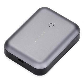 [6000mAh]最大2.5A出力 アルミニウムバッテリー Just Mobile Gum++ Aluminum グレー