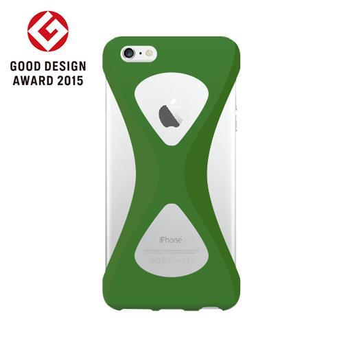 iPhone6s/6 ケース Palmo 落下防止シリコンケース グリーン iPhone 6s/6_0
