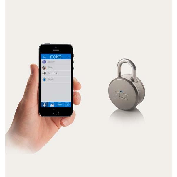 Noke アプリ対応Bluetooth南京錠_0