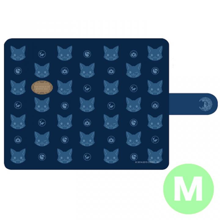 iPhone6 ケース クイズRPG 魔法使いと黒猫のウィズ 手帳型ケース Mサイズ 多機種(iPhone 6/Andoroid)対応_0