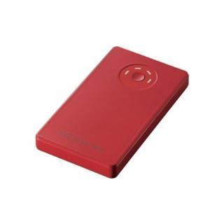 [3000mAh]エレコム モバイルバッテリー レッド