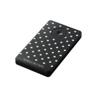 [3000mAh]エレコム モバイルバッテリー ドット