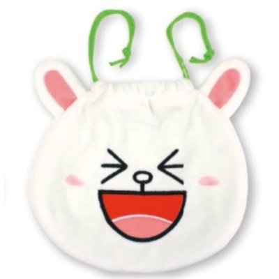 LINE フェイス型きんちゃく/コニー_0