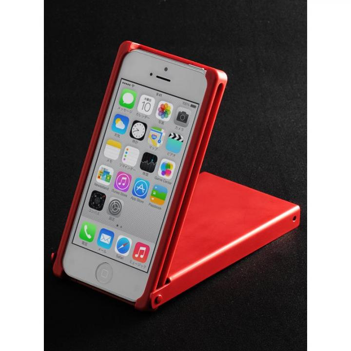 iPhone SE/5s/5 ケース ヌンチャクケース Trick Cover アルマイト 赤 iPhone SE/5s/5ケース_0
