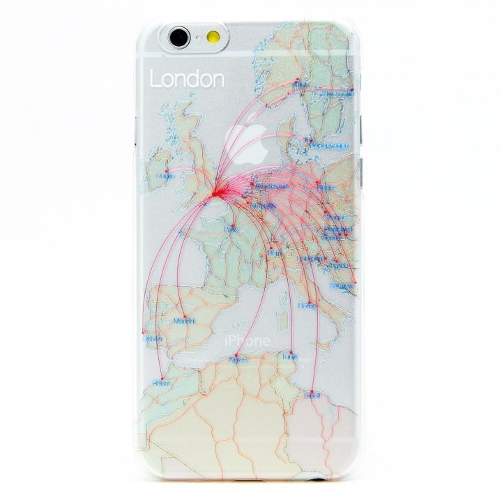 iPhone6s/6 ケース modref ロンドン 航空機ルートケース iPhone 6s/6_0