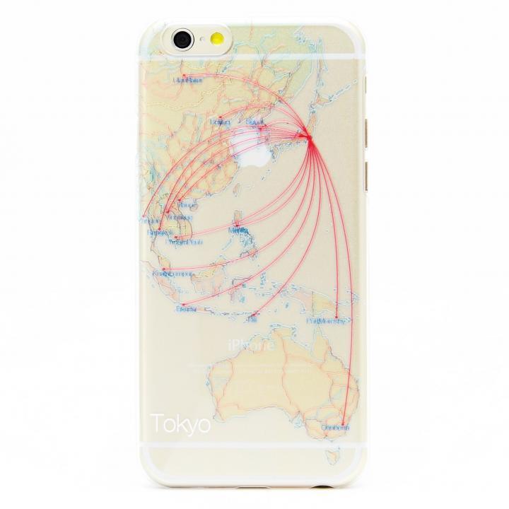 【iPhone6ケース】modref 東京 航空機ルートケース iPhone 6_0