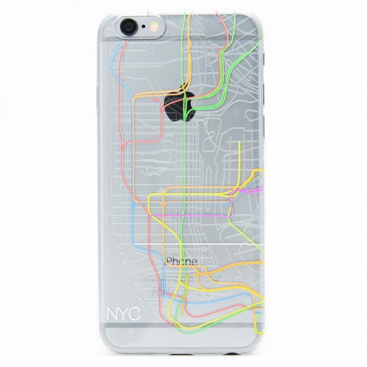 【iPhone6ケース】modref ニューヨーク 地下路線図ケース iPhone 6_0