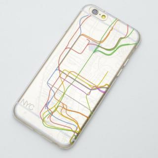 【iPhone6ケース】modref ニューヨーク 地下路線図ケース iPhone 6_1