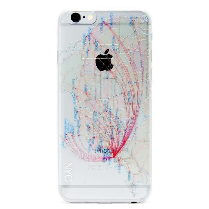 iPhone6 ケース modref ニューヨーク 航空機ルートケース iPhone 6_0