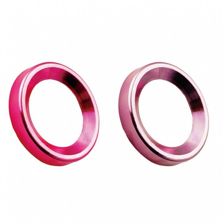 カメラレンズ保護 iCamera PROTECTOR ピンク+レッド iPhone 6s Plus/6 Plus_0