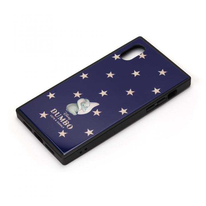 iPhone XS/X ケース ディズニー ガラスハイブリッドケース ダンボ iPhone XS/X_0