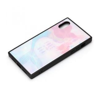 iPhone XS/X ケース ディズニー ガラスハイブリッドケース アリエル&セバスチャン iPhone XS/X【4月上旬】