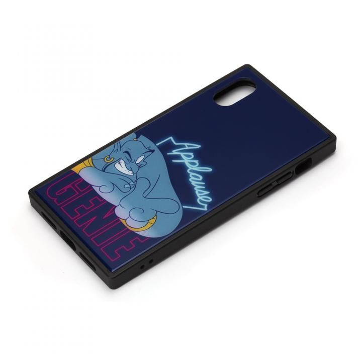 iPhone XS/X ケース ディズニー ガラスハイブリッドケース ジーニー iPhone XS/X_0