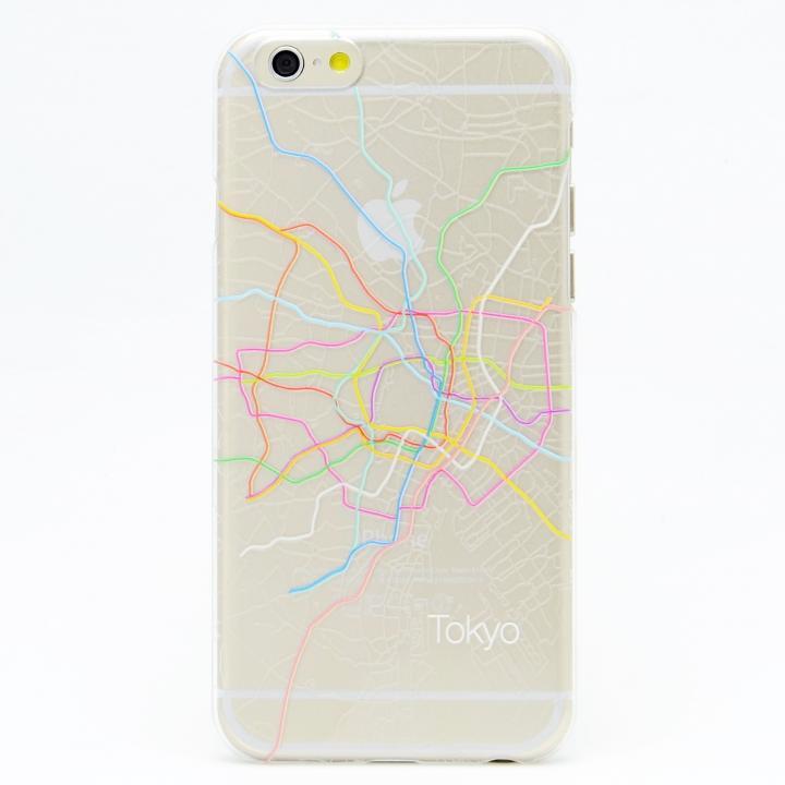 iPhone6 ケース modref 東京 地下路線図ケース iPhone 6_0