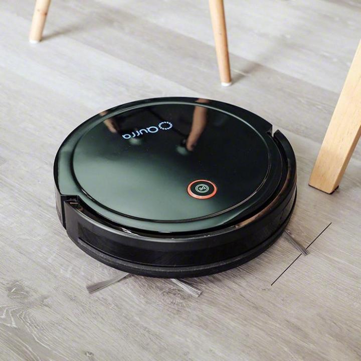 Qurra ZoU ゾウ SANPO ロボット掃除機 ブラック_0