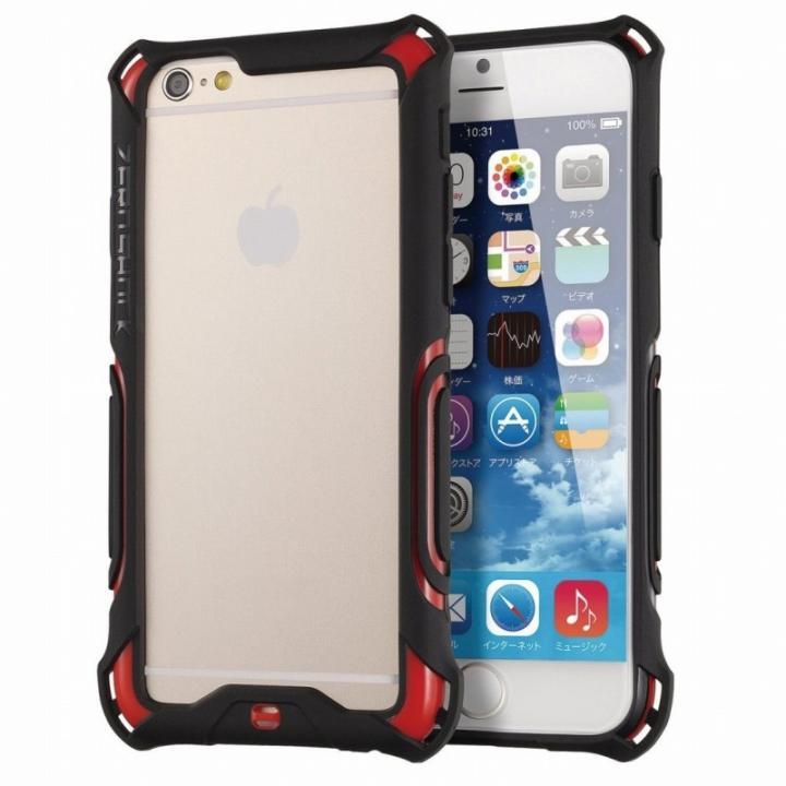 耐衝撃バンパー ZEROSHOCK レッド iPhone 6s