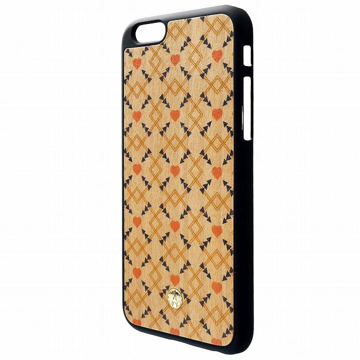 iPhone6 ケース ウッドパネルケース BANTEYANTE heart iPhone 6_0