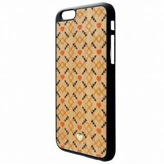 iPhone6 ケース ウッドパネルケース BANTEYANTE heart iPhone 6