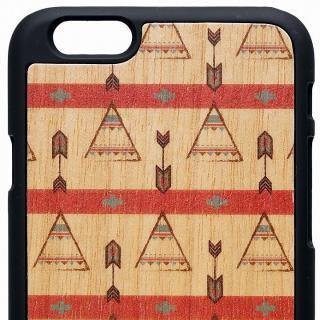 【iPhone6ケース】ウッドパネルケース BANTEYANTE little indian iPhone 6_2