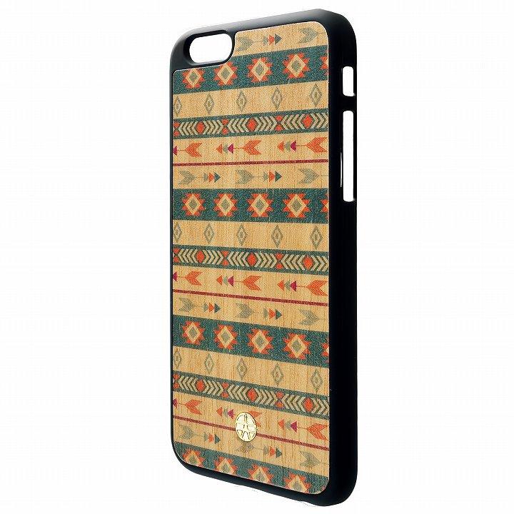 ウッドパネルケース BANTEYANTE bow tile iPhone 6