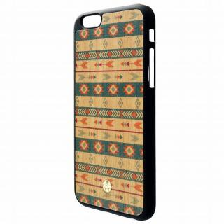 ウッドパネルケース BANTEYANTE bow tile iPhone 6