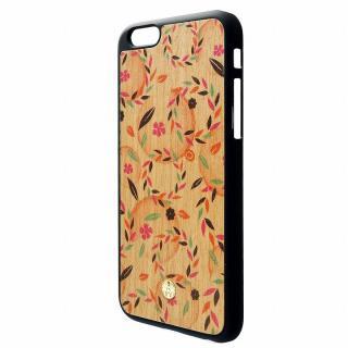 【iPhone6ケース】ウッドパネルケース BANTEYANTE flow iPhone 6