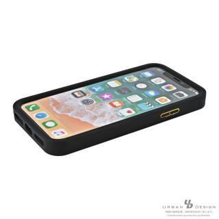【iPhone Xケース】BANDEL シリコンケース スカル ブラック/ゴールド iPhone X_4