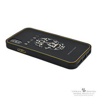 【iPhone Xケース】BANDEL シリコンケース スカル ブラック/ゴールド iPhone X_5