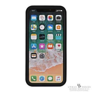 【iPhone Xケース】BANDEL シリコンケース スカル ブラック/ゴールド iPhone X_8