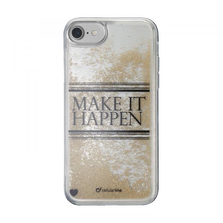 【iPhone8/7/6s/6ケース】cellularline Stardust 流れるラメケースHappen iPhone 8/7/6s/6_0