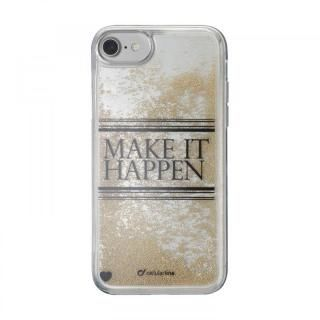 【iPhone7 ケース】cellularline Stardust 流れるラメケースHappen iPhone 8/7/6s/6