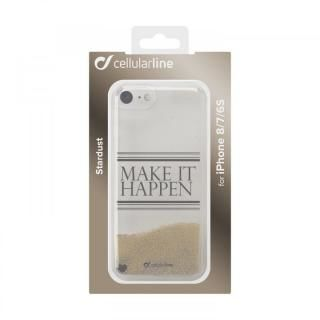 【iPhone8/7/6s/6ケース】cellularline Stardust 流れるラメケースHappen iPhone 8/7/6s/6_1