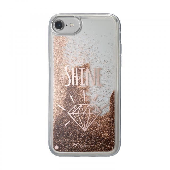iPhone8/7/6s/6 ケース cellularline Stardust 流れるラメケースSHINE iPhone 8/7/6s/6_0