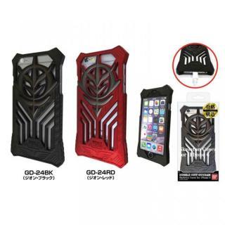 【iPhone6ケース】機動戦士ガンダム スケルトンハードケース ジオン・ブラック iPhone 6s/6_1