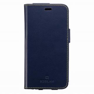 【iPhone6ケース】BZGLAM レザー手帳型ケース ネイビー iPhone 6_1