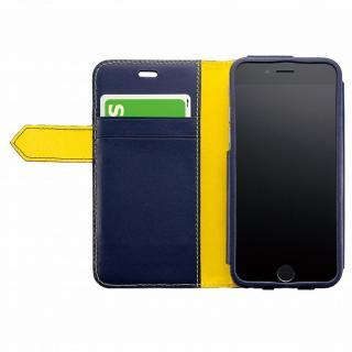 【iPhone6ケース】BZGLAM レザー手帳型ケース ネイビー iPhone 6_3