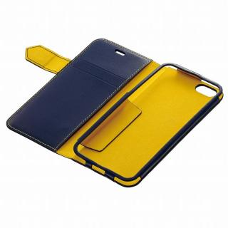 【iPhone6ケース】BZGLAM レザー手帳型ケース ネイビー iPhone 6_4