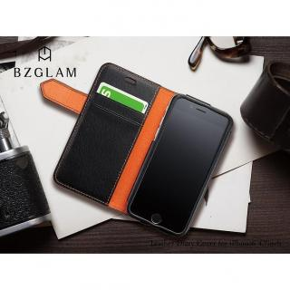 【iPhone6ケース】BZGLAM レザー手帳型ケース ネイビー iPhone 6_9