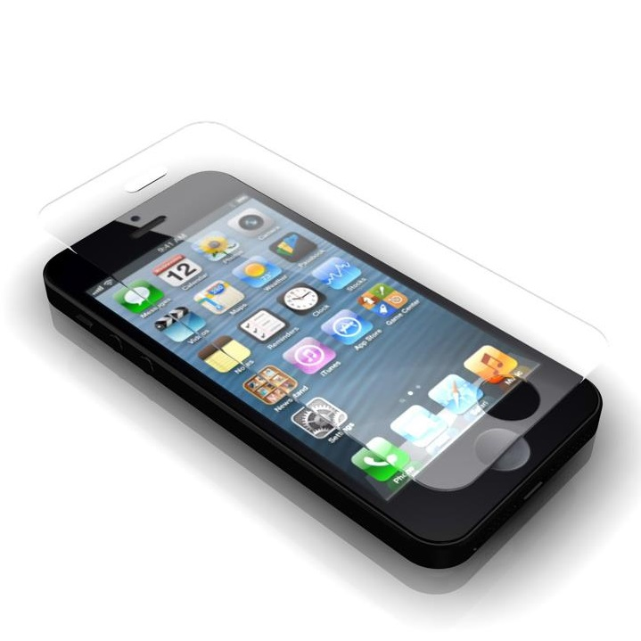 iPhone SE/5s/5 フィルム [0.20mm] GRAMAS EXTRA  iPhone SE/5s/5/5c 保護強化ガラス_0