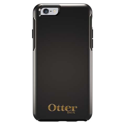 【iPhone6ケース】耐衝撃ケース OtterBox Symmetry 限定モデル ブラック ゴールドロゴ iPhone 6_0