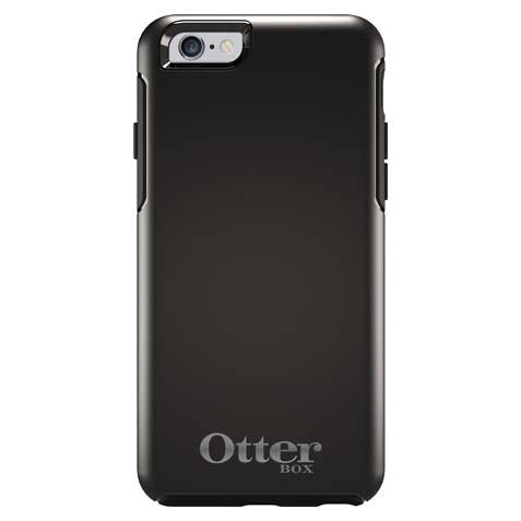 【iPhone6ケース】耐衝撃ケース OtterBox Symmetry 限定モデル ブラック シルバーロゴ iPhone 6_0