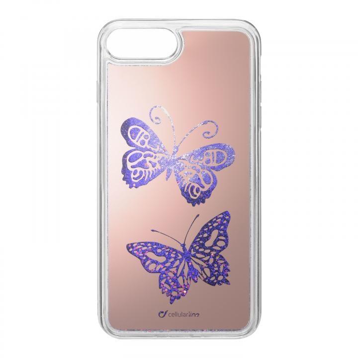 iPhone8 Plus/7 Plus ケース StarDust 流れるラメケース 蝶 iPhone 8 Plus/7 Plus_0